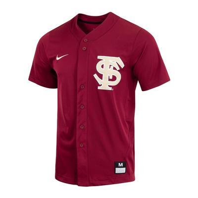 Florida State Nike Men's Replica Baseball Jersey