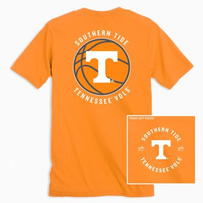 Tennessee Southern Tide Men's Basketball Logo Tee