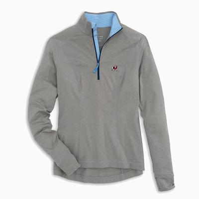 Georgia Southern Tide Women's Skipjack Athletic 1/4 Zip Pullover