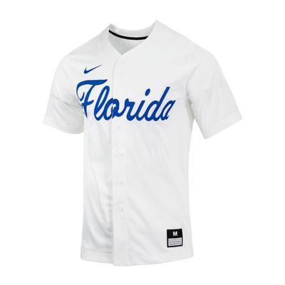 Florida Nike Script Baseball Jersey