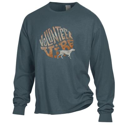Tennessee Volunteer Vibes Long Sleeve Comfort Colors Tee