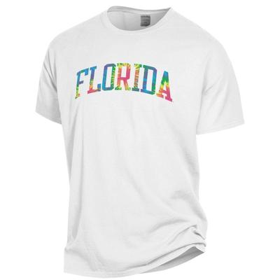 Florida Tie Dye Arch Short Sleeve Tee