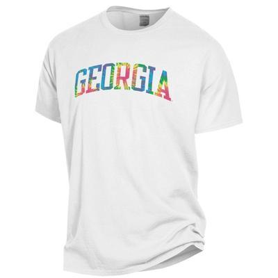 Georgia Tie Dye Arch Short Sleeve Tee