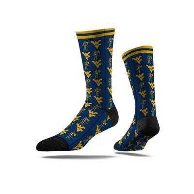 West Virginia Strideline Crew Socks
