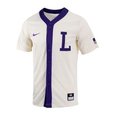 LSU Nike Men's Throwback Baseball Jersey
