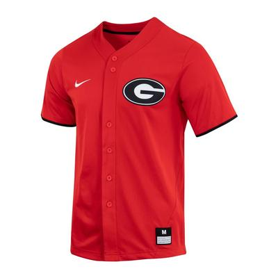 Georgia Nike Men's Replica Baseball Jersey