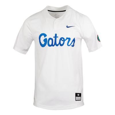 Florida Nike Gators Script Replica Softball Jersey