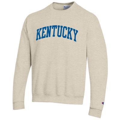 Kentucky Champion Oatmeal Fleece Crew