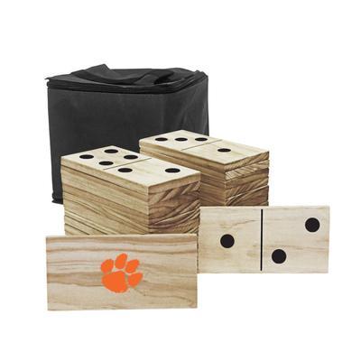 Clemson Tigers Yard Dominoes