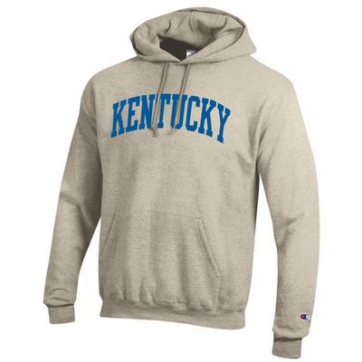 Kentucky Champion Oatmeal Fleece Hoody