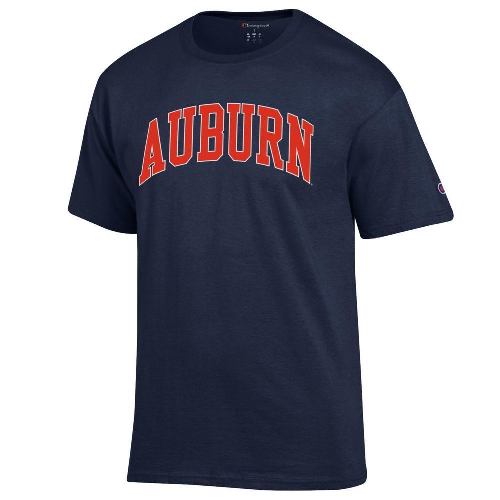 Auburn Champion Men's Arch Tee Shirt