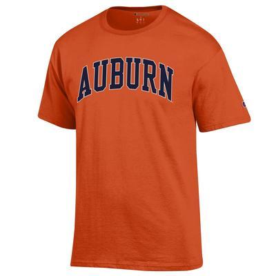 Auburn Champion Men's Arch Tee Shirt ORANGE