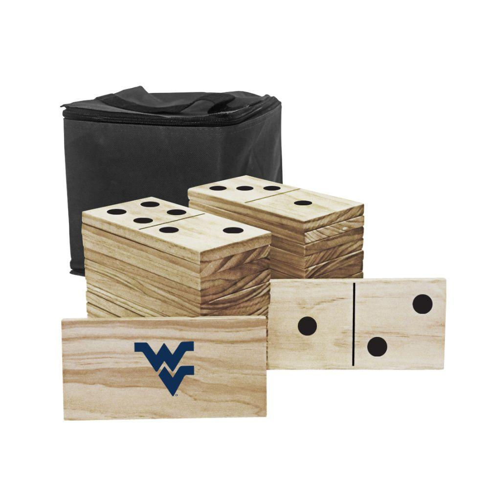West Virginia Mountaineers Yard Dominoes