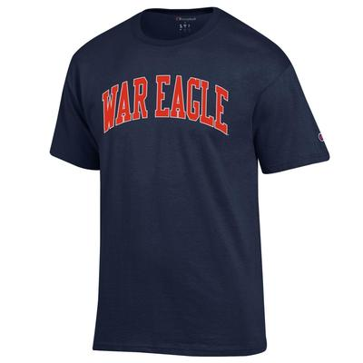 Auburn Champion Men's Arch War Eagle Tee Shirt