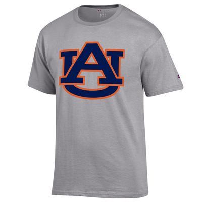 Auburn Champion Men's Giant Logo Tee Shirt