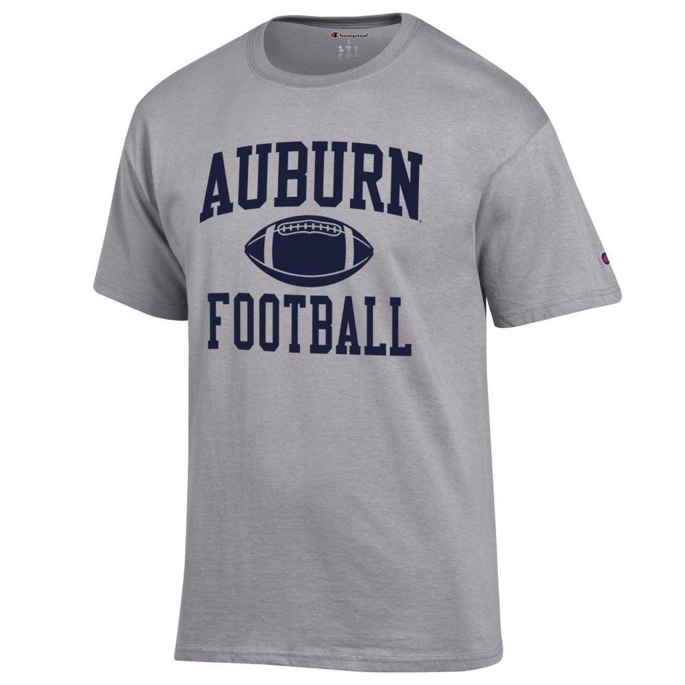 Auburn Champion Men's Basic Football Tee Shirt
