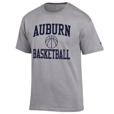 Auburn Champion Men's Basic Basketball Tee Shirt