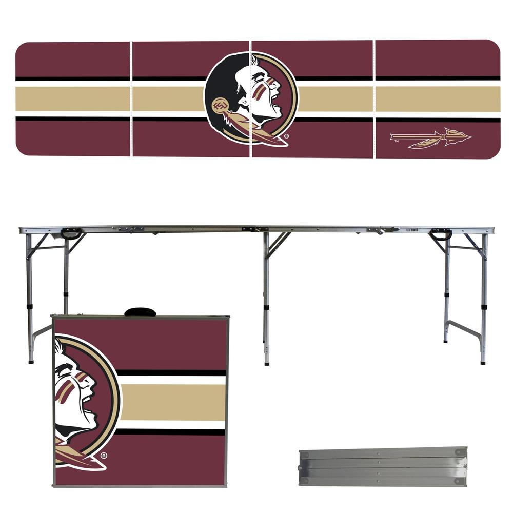 Florida State Striped Tailgate Table