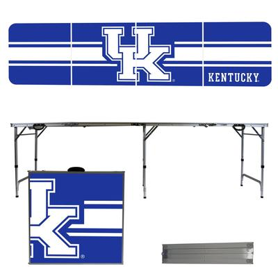 Kentucky Wildcats Striped Tailgate Table