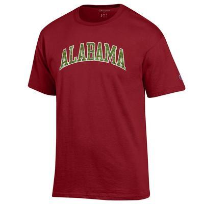 Alabama Champion Men's Camo Arch Tee