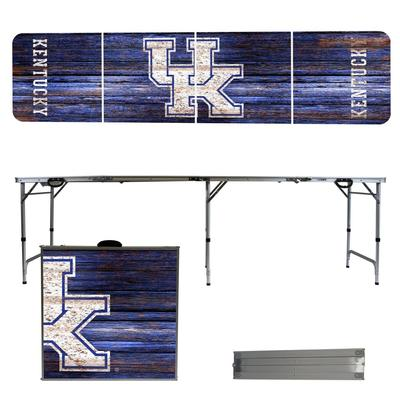 Kentucky Weathered Faux Wood Tailgate Table