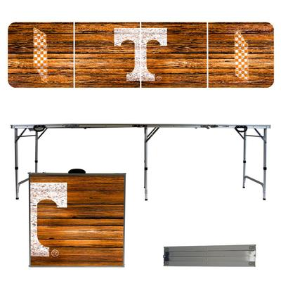 Tennessee Weathered Faux Wood Tailgate Table