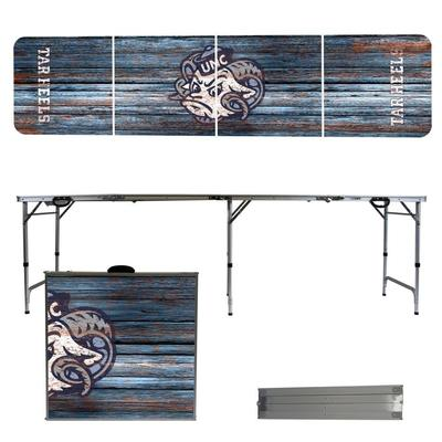 UNC Weathered Faux Wood Tailgate Table