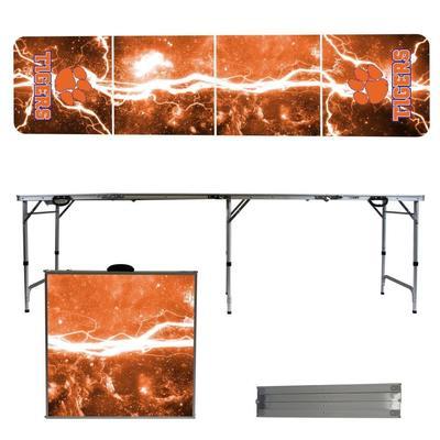Clemson Tigers Lightning Tailgate Table
