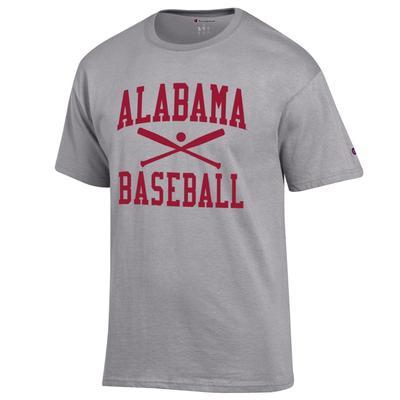 Alabama Champion Men's Basic Baseball Tee