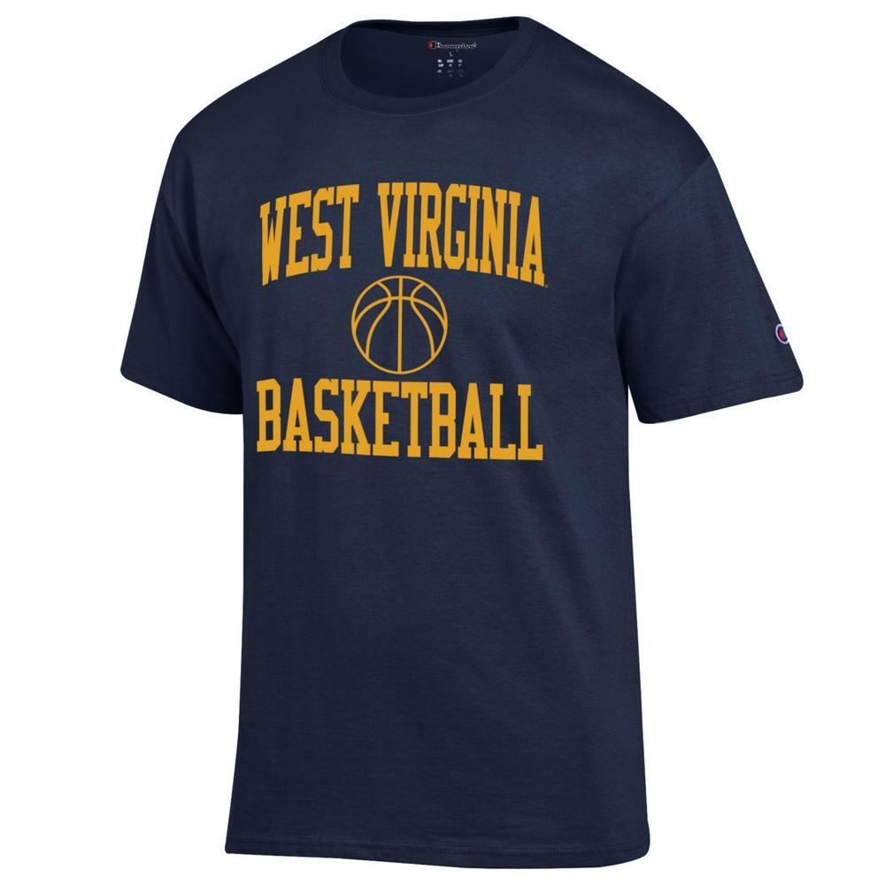 West Virginia Champion Men's Basic Basketball Tee