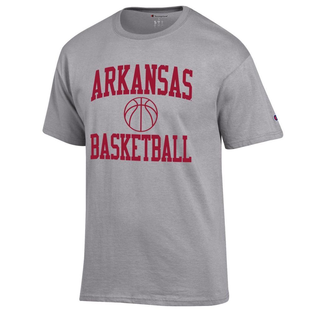 Arkansas Champion Men's Basic Basketball Tee