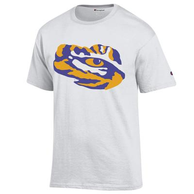 LSU Champion Men's Giant Tiger Eye Tee