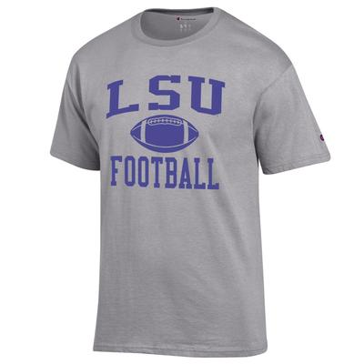 LSU Champion Men's Basic Football Tee