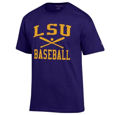 LSU Champion Men's Basic Baseball Tee