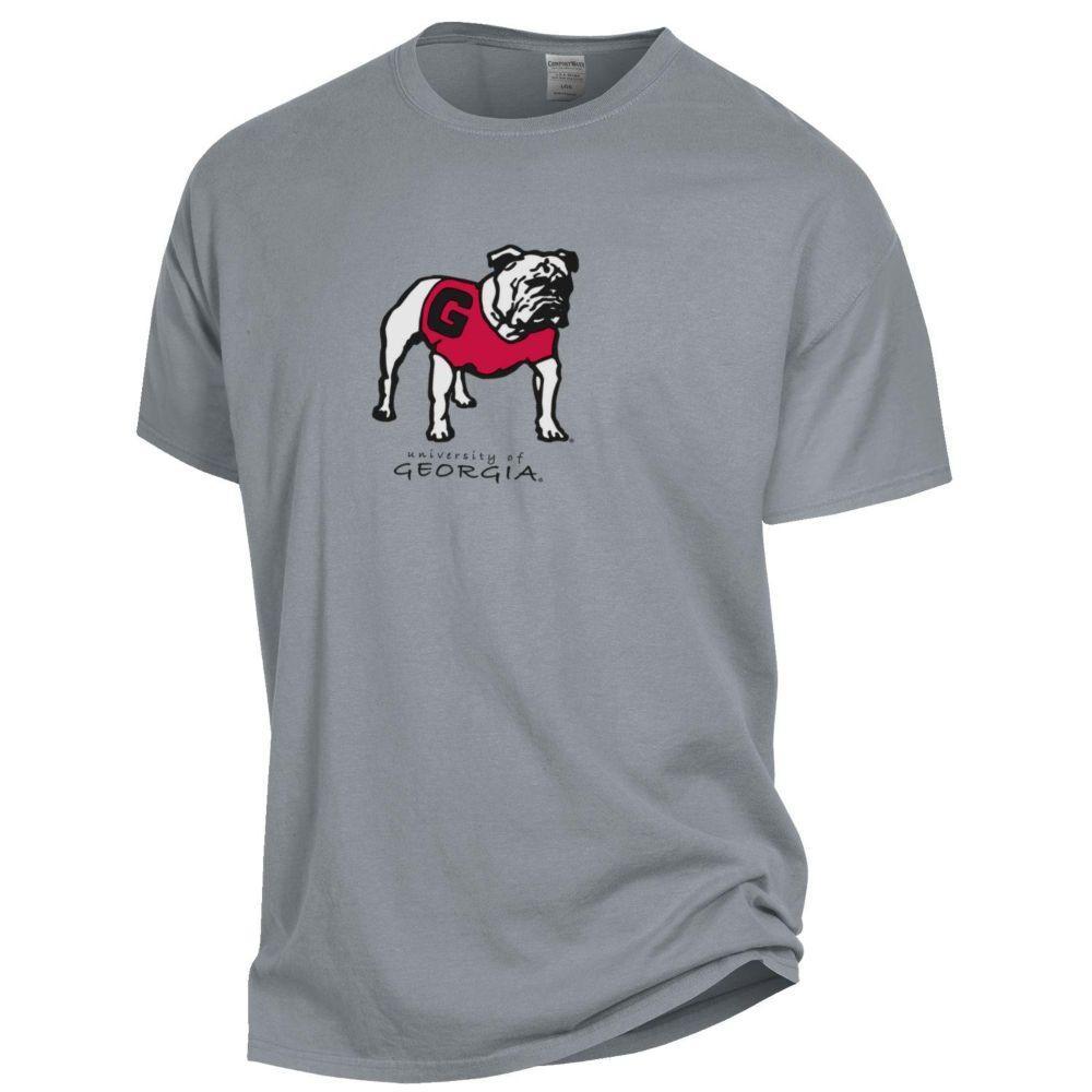 Georgia Standing Bulldog Short Sleeve Tee