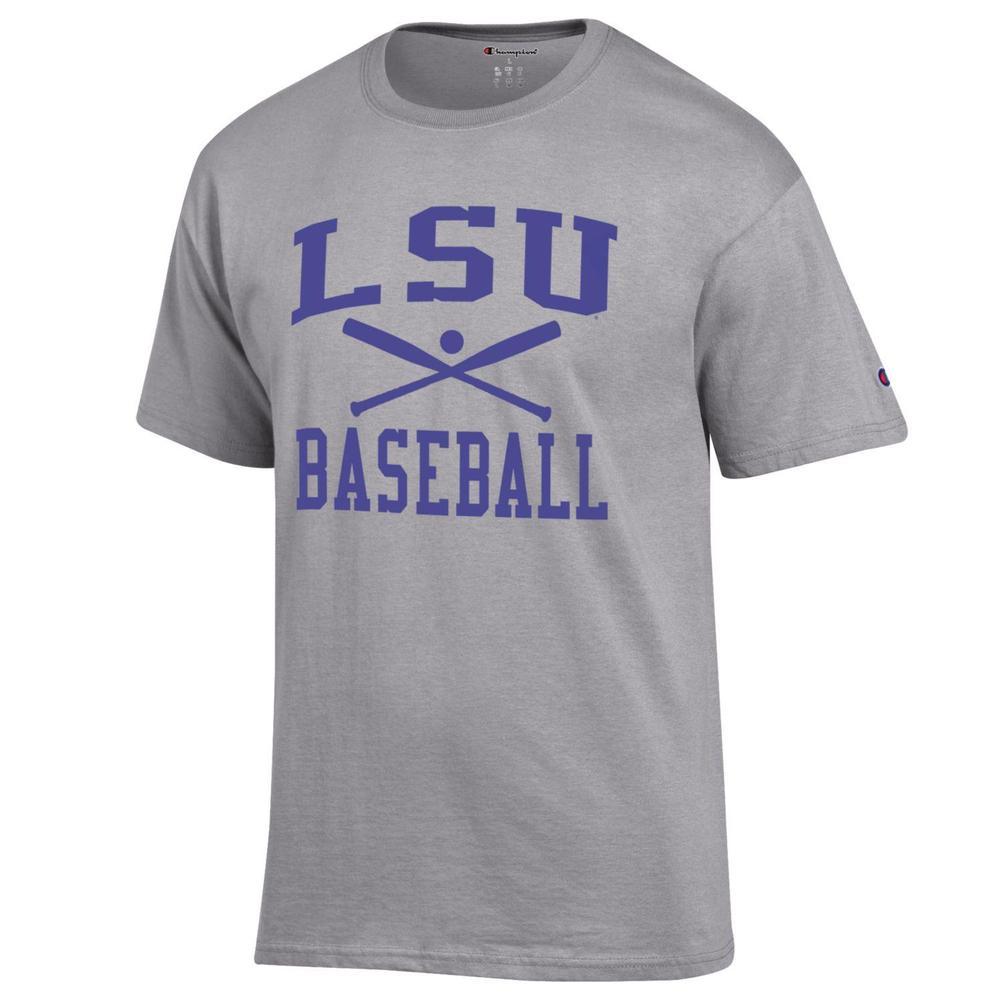 Lsu Champion Men's Basic Baseball Tee