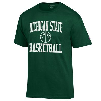 Michigan State Champion Basic Basketball Tee