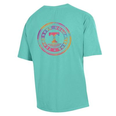 Tennessee Colorful Circle Short Sleeve Comfort Colors Tee