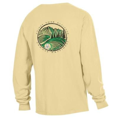 Comfort Adjust Your Altitude Long Sleeve Comfort Colors Tee