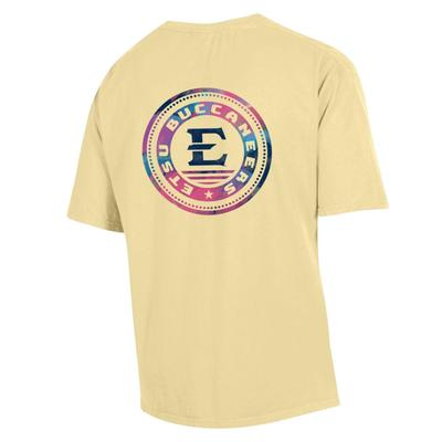 ETSU Colorful Circle Short Sleeve Comfort Colors Tee