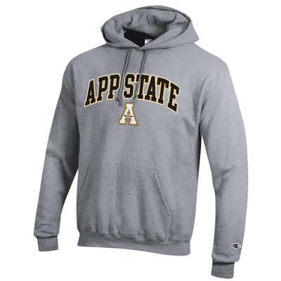 Appalachian State Champion Men's Arch Screen Hoody