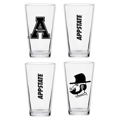 Appalachian State 16 oz Pint Glass