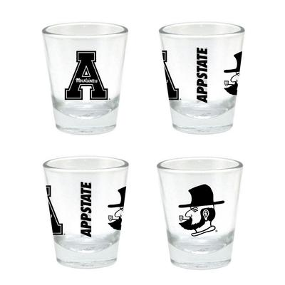 Appalachian State 2 oz Core Shot Glass