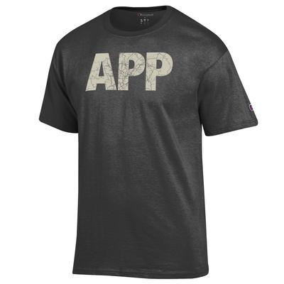 Appalachian State Champion Men's Town Lettering Tee