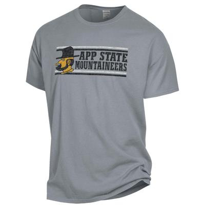 Appalachian State Distressed Short Sleeve Comfort Colors Tee