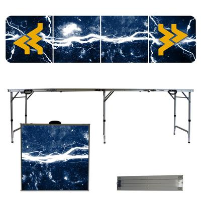 West Virginia Mountaineers Lightning Tailgate Table