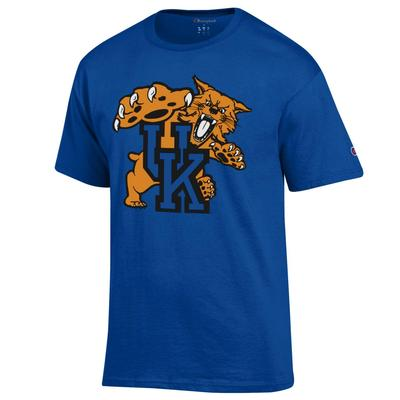 Kentucky Champion Men's Giant Wildcat Tee