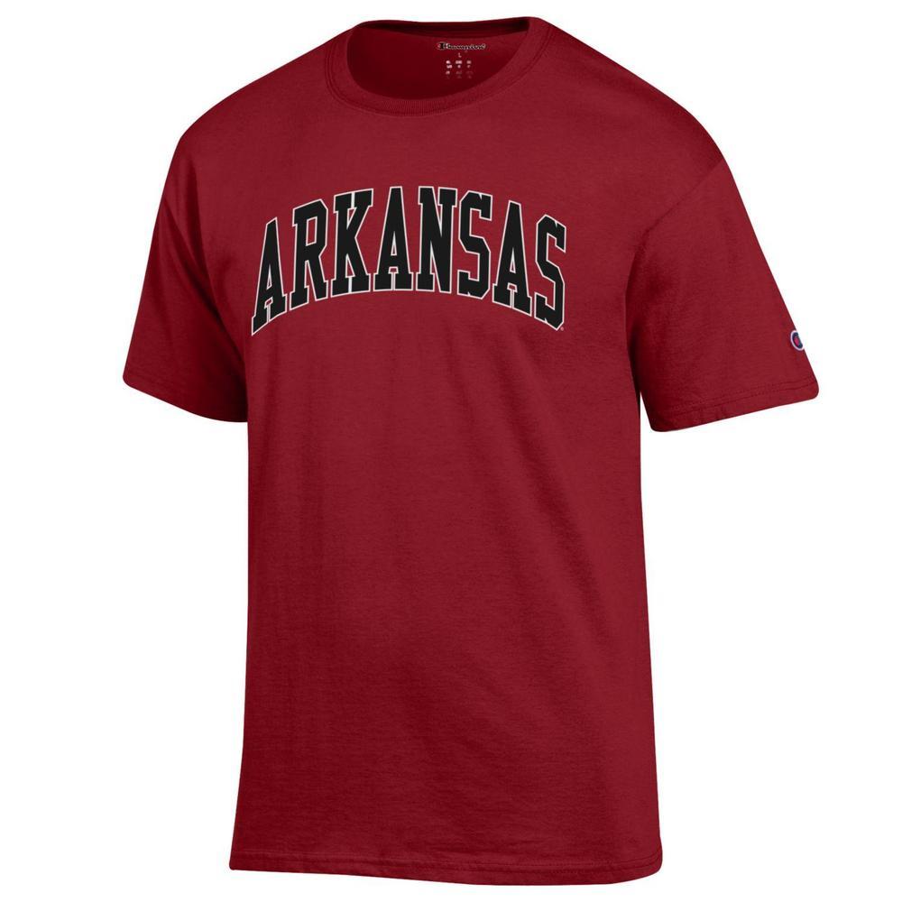 Arkansas Champion Men's Arch Tee