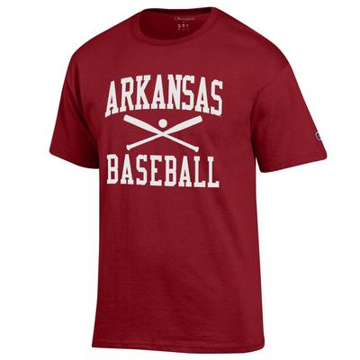 Arkansas Champion Men's Basic Baseball Tee