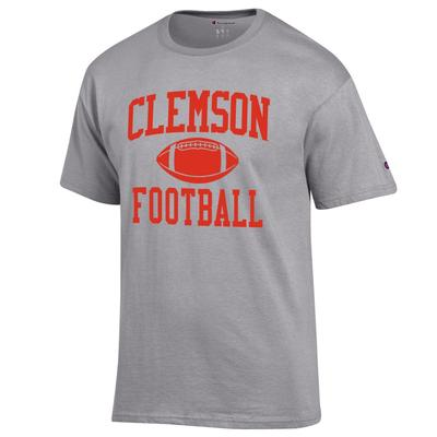 Clemson Champion Men's Basic Football Tee